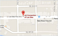 Directions to The Art Connection of Las Olas